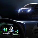 Chevrolet Beat EV dashboard interface