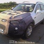 Chevrolet Captiva Facelift front fascia
