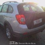 Chevrolet Captiva Facelift rear