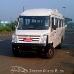 Force Motors Traveller Facelift