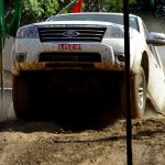 Ford Endeavour off-roading