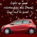 Honda Brio Happy Diwali