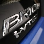 Honda Brio badge