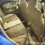 Honda Brio rear seats