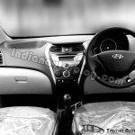 Hyundai Eon dashboard