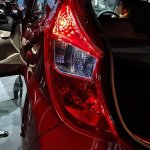 Hyundai Eon Moon shaped tail light