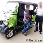 Mahindra REVA Gio Compact Cab EV front right