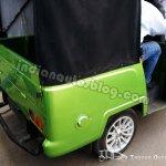 Mahindra REVA Gio Compact Cab EV rear left