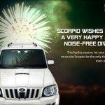 Mahindra Scorpio Happy Diwali