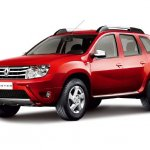 Red Dacia Duster