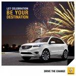 Renault Koleos Happy Diwali