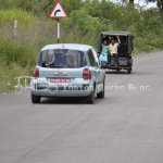 Renault Modus on validation tests in India