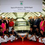 Skoda Rapid production