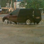 Tata Indica XL rear