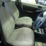 Tata Manza Celebration Edition front seats