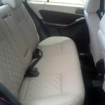 Tata Manza Celebration Edition rear seat