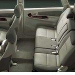Toyota Innova Facelift cabin