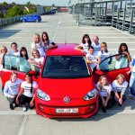 Volkswagen Up 16 people in one car