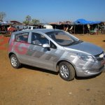 Chevrolet Sail hatchback India mule