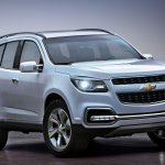 Chevrolet Trailblazer front left