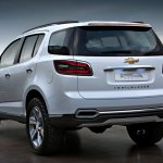Chevrolet Trailblazer rear profile