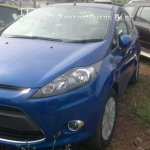 Ford Fiesta AT front fascia