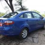 Ford Fiesta Automatic blue