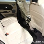 Evoque rear seats