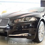 Jaguar XF Facelift frontal area