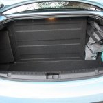 Renault Fluence ZE boot empty