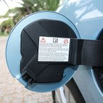 Renault Fluence ZE charging flaps