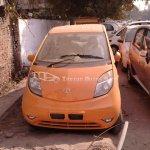 Tata Nano Orange