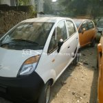 Tata Nano upgrade metallic white