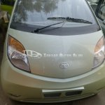 Tata Nano upgrade lime green