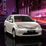 Toyota Etios front end
