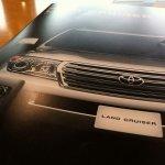 Toyota Land Cruiser facelift brochure
