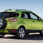 2012 Ford EcoSport render rear