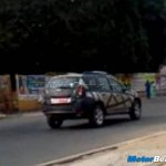 Renault Duster Spied in India 1