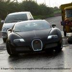 Bugatti Veyron speed bump India