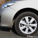 Facelifted Corolla Altis alloy wheels
