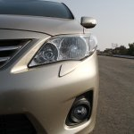 Facelifted Corolla Altis head lamp