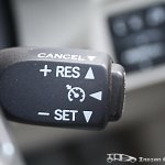Facelifted Toyota Corolla Altis cruise control