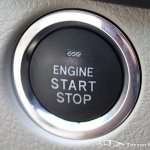 Facelifted Toyota Corolla Altis start stop button