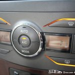 Facelifted Toyota Corolla Altis aircon controls