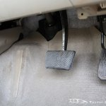 Facelifted Toyota Corolla Altis pedals