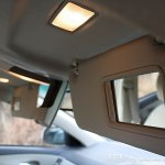 Facelifted Toyota Corolla Altis sun visors