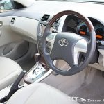 Facelifted Toyota Corolla Altis interiors