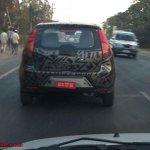 Spied Chevrolet Sail hatchback India