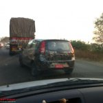 Spied Chevrolet Sail hatchback India 1