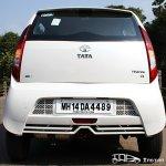 2012 Tata Nano rear